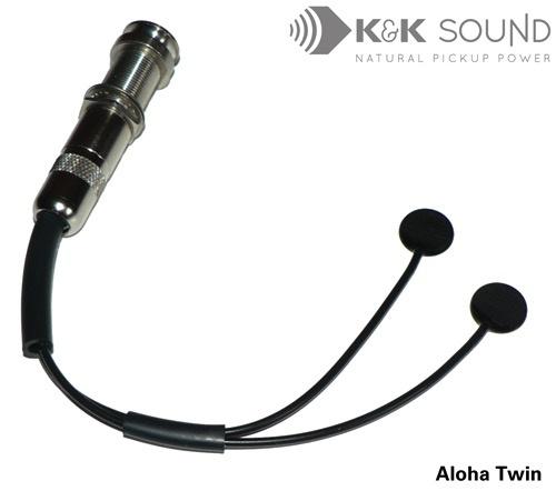 K&K K&K Sound - Aloha Twin Ukulele Pickup