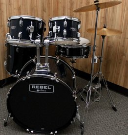 Mapex Rebel 5 piece Drum Set in Royal Blue w/ Hardware & Cymbals