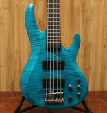 ESP LTD ESP B-155 DX Transparent Blue