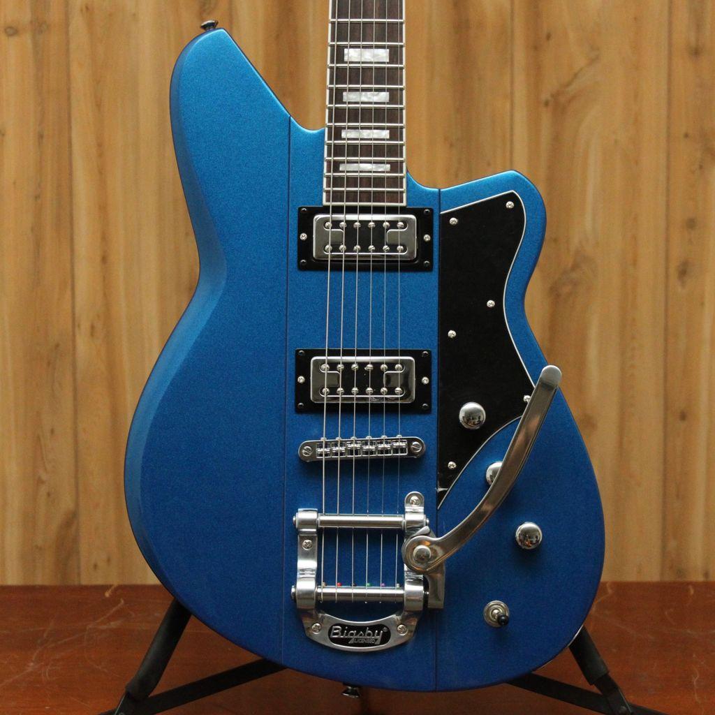 Reverend Reverend Warhawk RT w/ Bigsby - Superior Blue