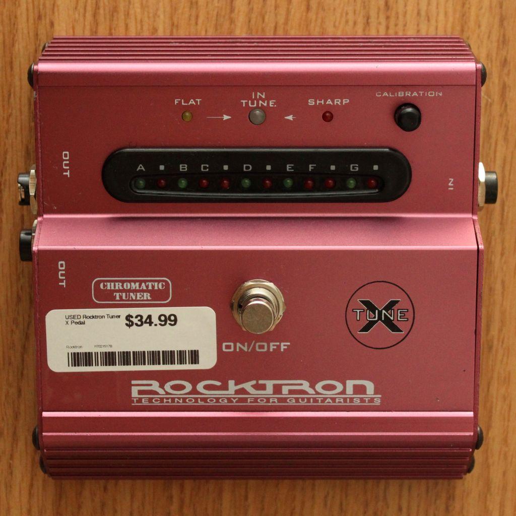 Rocktron USED Rocktron Tuner X Pedal