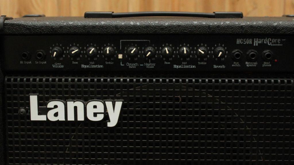 Laney Used - Laney HC50R HardCore Combo Amp
