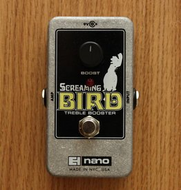 Electro Harmonix Electro Harmonix Screaming Bird Treble Booster Effect Pedal