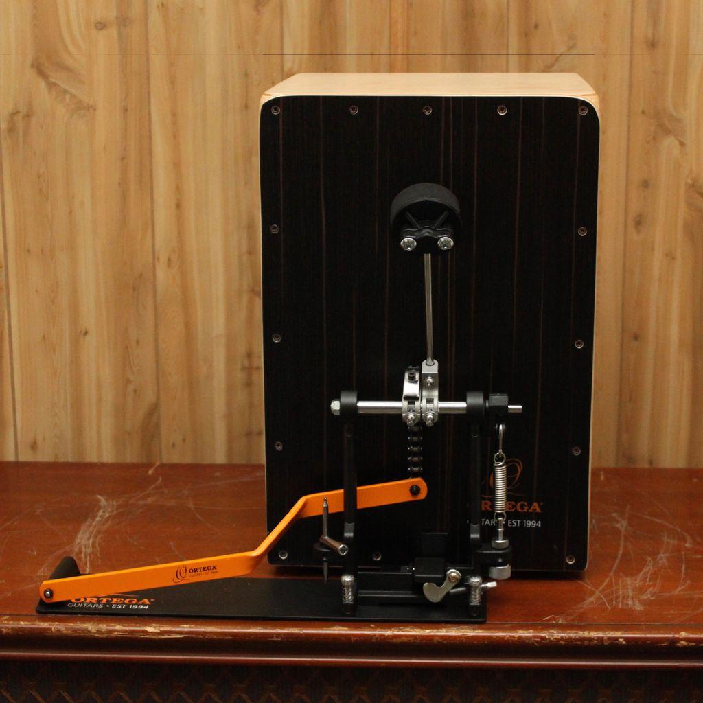 Ortega Ortega OSTBCJ-BU Ortega stomp box cajon bundle incl. cajon, pedal plus 2 x free bags