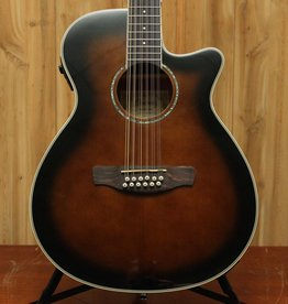 Ibanez Ibanez AEG 12-String Acoustic Electric Guitar in Dark Violin Sunburst
