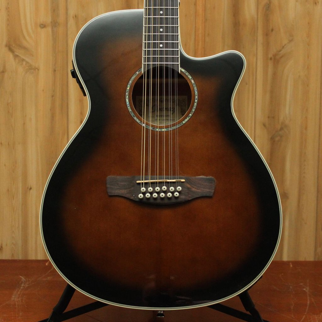 Ibanez AEG Acoustic Electric 12String Guitar - Dark Violin Sunburst
