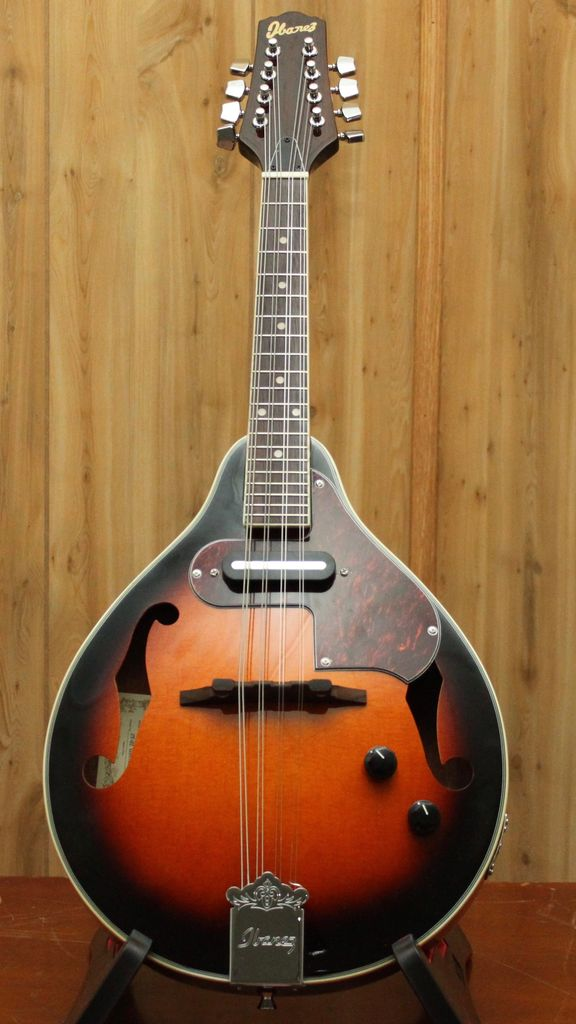 Ibanez Ibanez A-Style Mandolin, Brown Sunburst High Gloss