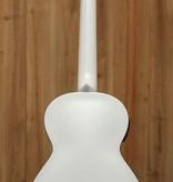 Kala Archtop F Style Uke in Metallic White