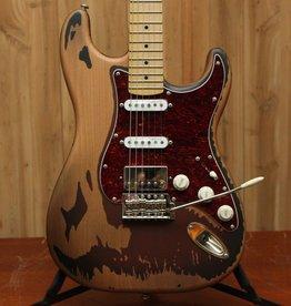 LTD GL-256 George Lynch Signature Distressed 2-Tone Burst