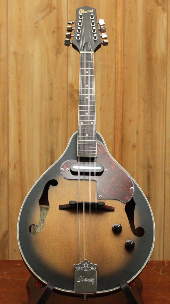 Ibanez A Style Acoustic Electric Mandolin - Open Pore Vintage Sunburst