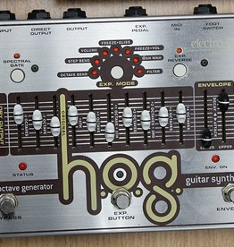 Used Electro Harmonix H.O.G. Guitar Synth Package. Expression Pedal and Foot Controller