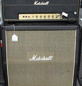 """Marshall Used Marshall Super Lead 100 Stack w/ 4x12"""" Mid 70's"""