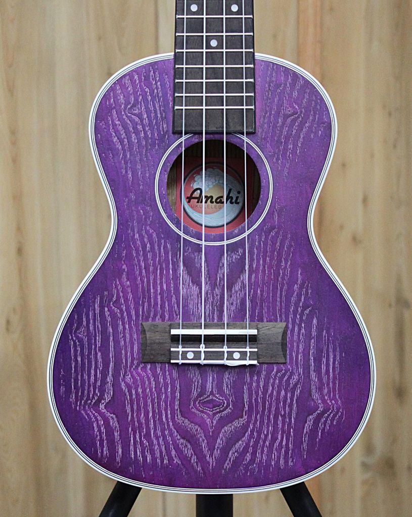 Amahi Amahi Purple Quilted Ash Top, Back and Sides w/case