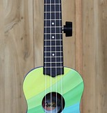 Amahi Amahi Ukulele with Wavy Rainbow Design