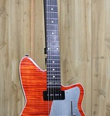 Reverend Reverend Double Agent Wilkinson 20th Anniversary - Rock Orange Flame Maple