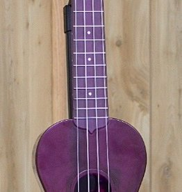 Kala Kala Waterman Fluorescent Purple Grape Soprano Ukulele- Waterproof! Perfect for camping or the beach!
