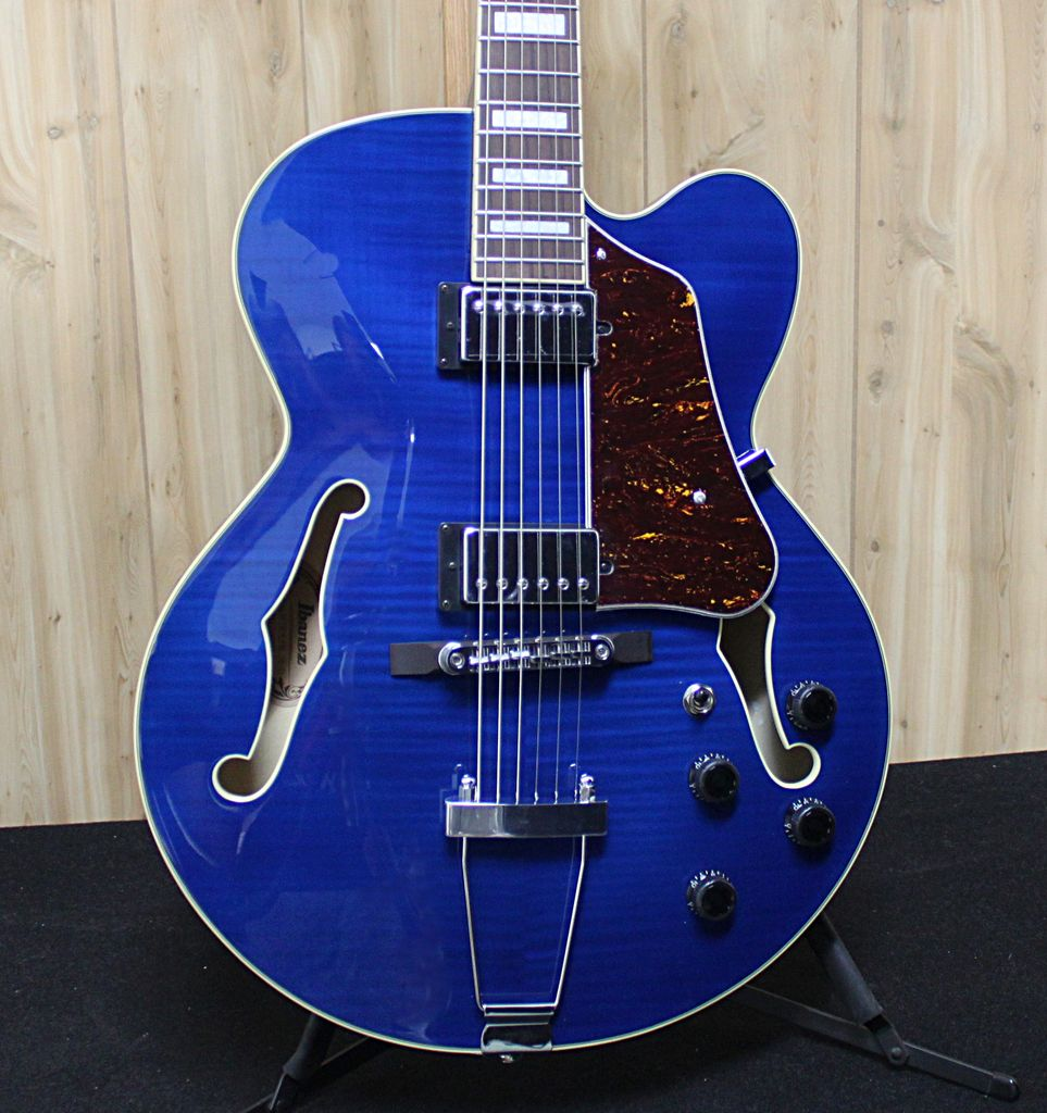 Ibanez Ibanez Artcore Hollow Body Electric Guitar in Transparent Blue