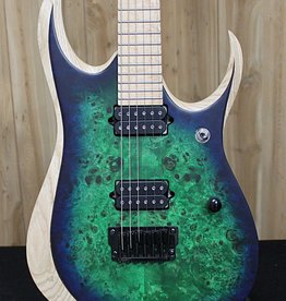 Ibanez RGD Iron Label 6str Electric Guitar - Surreal Blue Burst — Tuned D to D, with gig bag