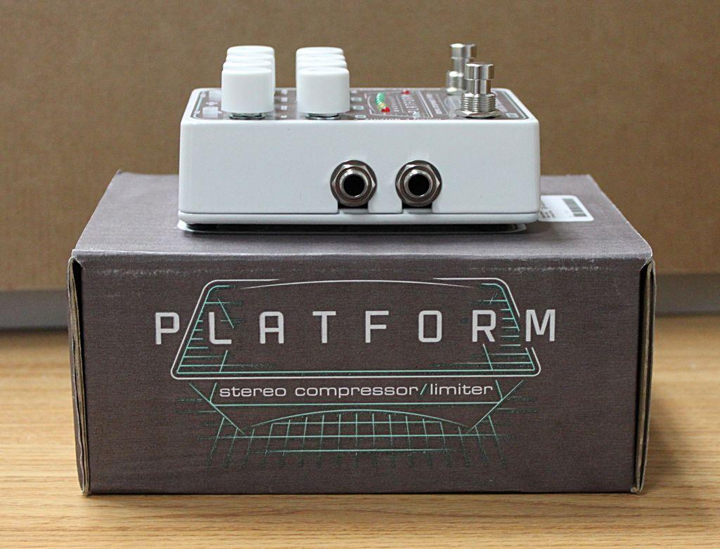 Electro-Harmonix Platform Stereo Compressor Pedal