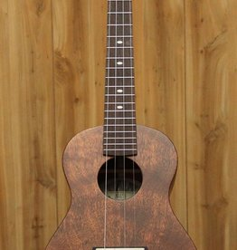 Kala Kala Classic Series - All Solid Doghair Mahogany Satin Tenor Ukulele w/Case
