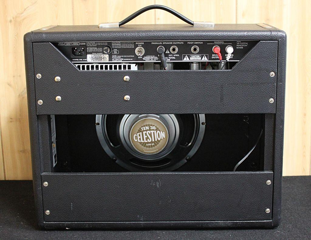 Fender Used Fender Princeton Reverb '68 Reissue Tube Amp