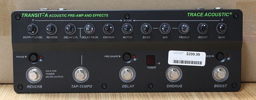 Trace Elliot Transit Acoustic Preamp