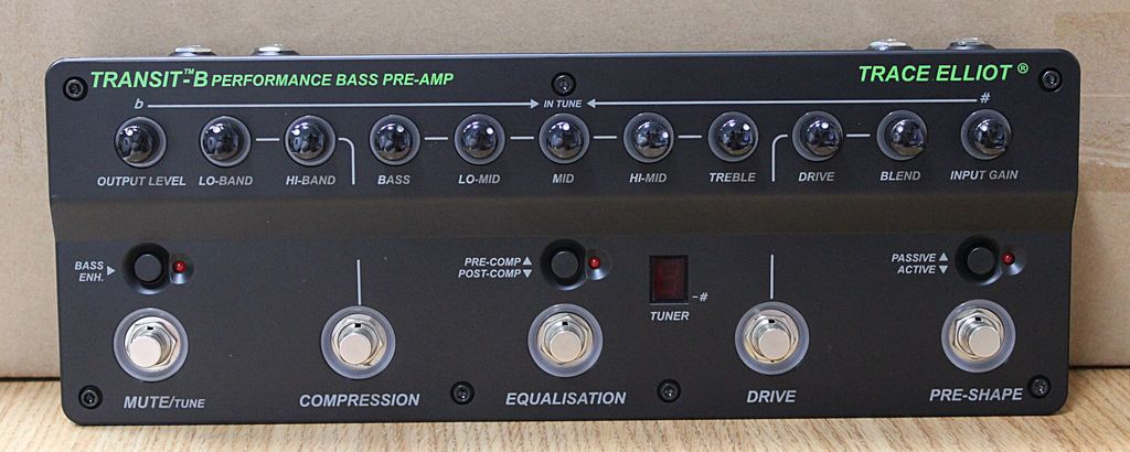 Trace Elliot Transit Bass Preamp