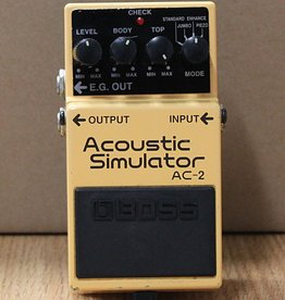 Boss Used Boss AC-2 Acoustic Simulator Pedal