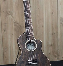 Lanikai Lanikai Figured Bocote Thin Body Concert Acoustic/Electric Ukulele w/gig bag