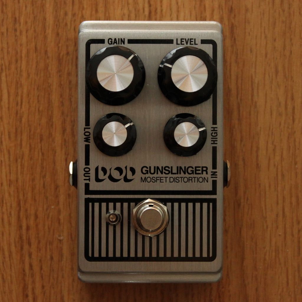 DOD Gunslinger Distortion Pedal