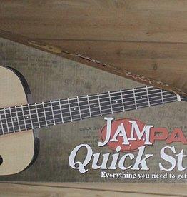 Ibanez Ibanez JamPack Quickstart 3/4 Acoustic Guitar Pack — includes Gig Bag & Tuner