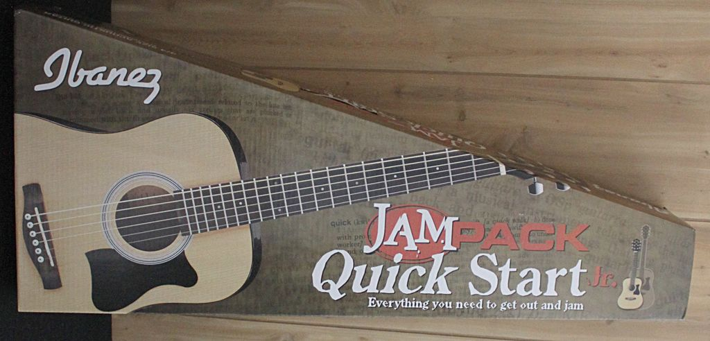 Ibanez Ibanez JamPack Quickstart 3/4 Acoustic Guitar Pack — includes Gig Bag & Tuner