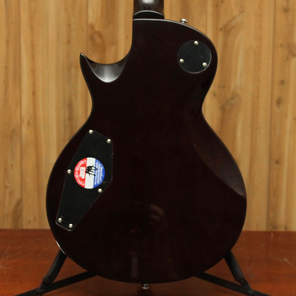 LTD LTD EC-256 FM Dark Brown Sunburst
