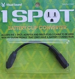 Visual Sound One Spot Battery Clip Converter