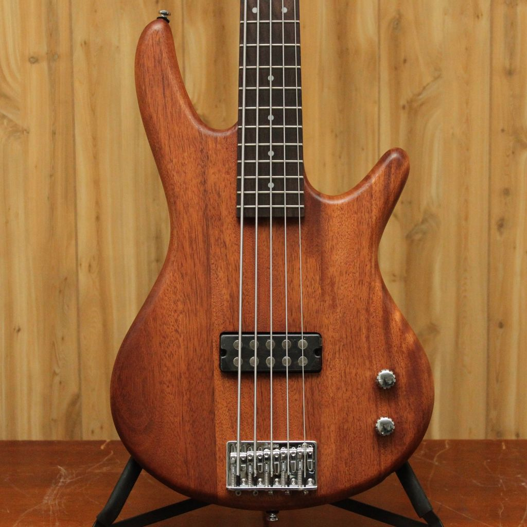 Ibanez Ibanez Gio 5-String Electric Bass in Mahogany Oil