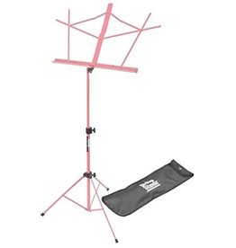 On Stage On Stage Sheet Music Stand w/ Carrying Bag — Pink