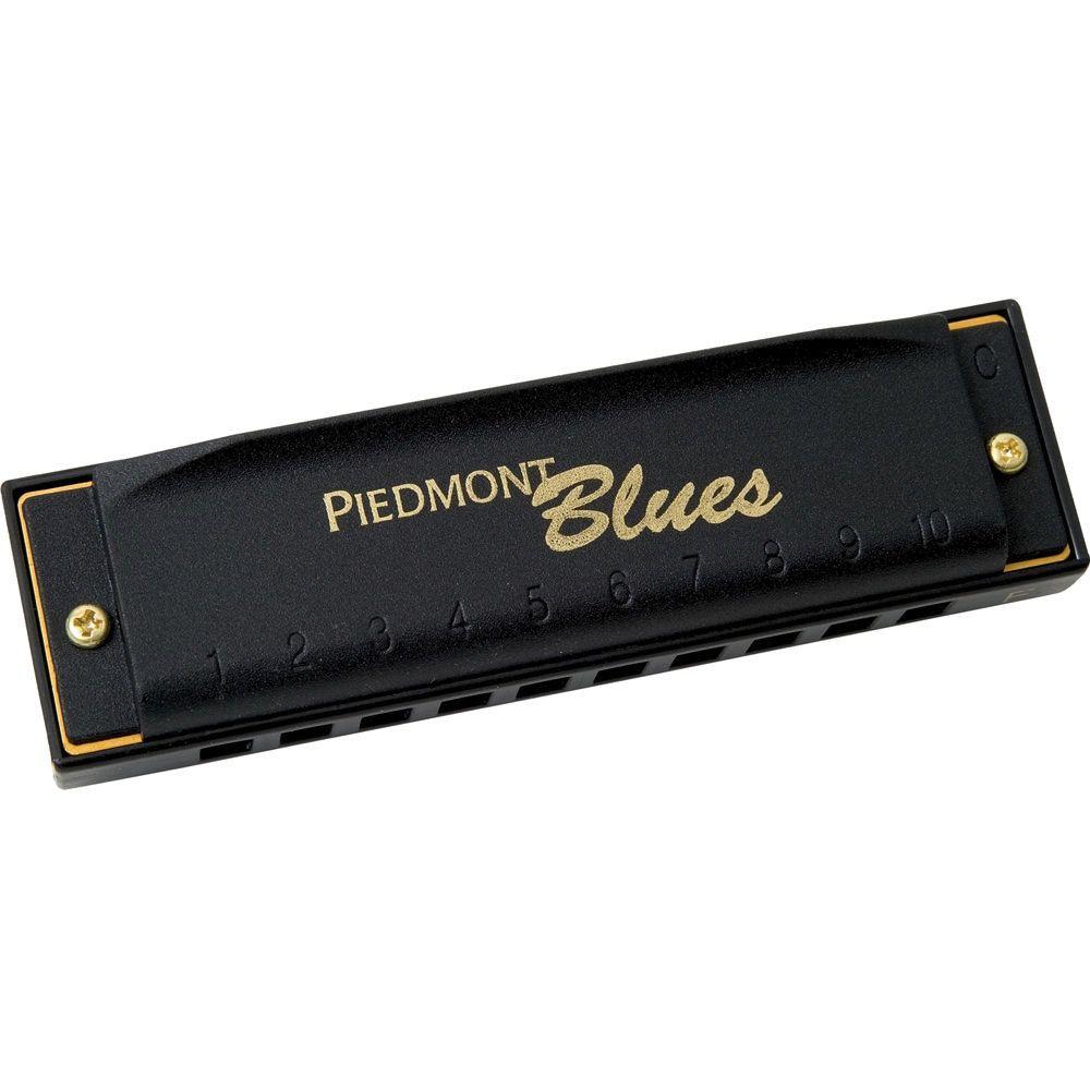 Hohner Hohner Piedmont Blues Seven Piece Harmonica Set