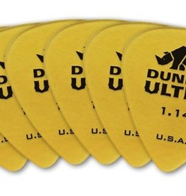 Dunlop Dunlop Ultex Standard 1.14 mm Pick  - 6 Pack