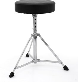 Mapex Rebel Single Braced Entry Level 3-Leg Round Throne w/5-Position Bolt-Lock Adjustment