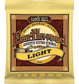 Ernie Ball Ernie Ball Earthwood Acoustic Guitar Strings Lt 11-52s