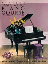 Alfred Publishing Alfred's Basic Adult Piano Course - Lesson Book: Level 1