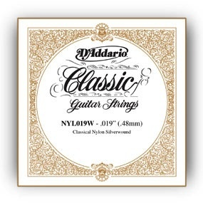 D'Addario Single Silver Wound .050