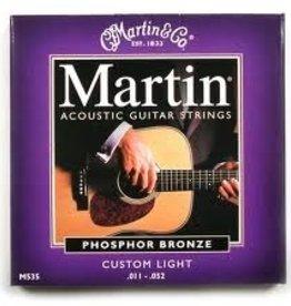 Martin Martin Acoustic Guitar Strings Custom Light 11-52