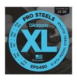 D'Addario D'Addario E9th-Pedal Steel Guitar Strings ProSteels .013p-.038w
