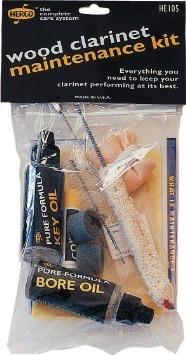 Dunlop Herco Wood Clarinet Maintenance Kit