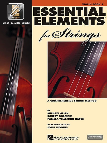 Hal Leonard Hal Leonard Essential Elements for Strings – Violin Book 1