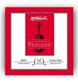 D'Addario D'Addario Prelude Violin Strings 4/4 medium tension