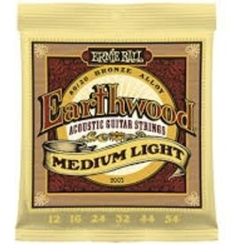 Ernie Ball Ernie Ball - Earthwood Medium Light 12-54s Acoustic Strings