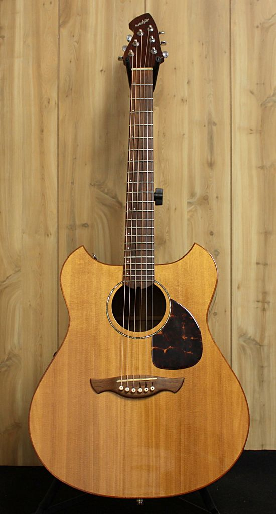 Used Wechter Pathmaker Acoustic Guitar w/ Case