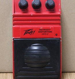 Used Peavey Hotfoot Distortion HFD-2 Effect Pedal